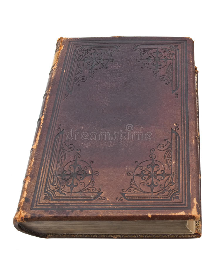 Old Leather Bible royalty free stock photography