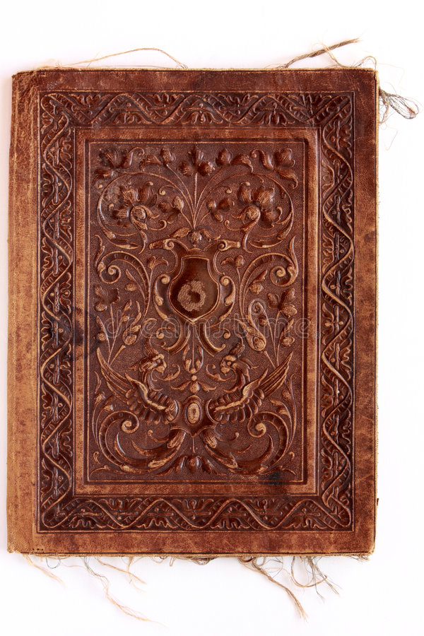 Download Old Leather Binding Stock Image - Image: 8956031