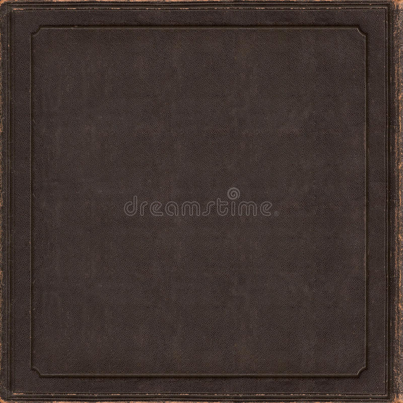 Old Leather Book Cd Vinyl Single Blank Cover Artwork Stock ...