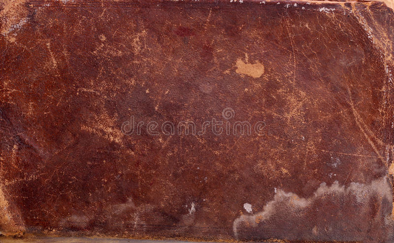 Old Leather book cover royalty free stock photos