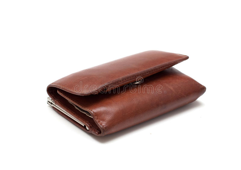 Download Old leather wallet stock photo. Image of tool, leather - 18134964