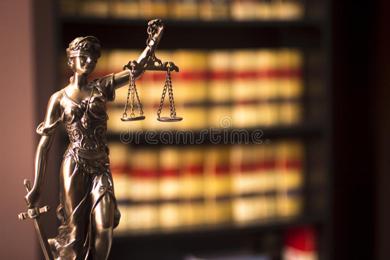 Old legal books Spanish law reports library Spain royalty free stock photo