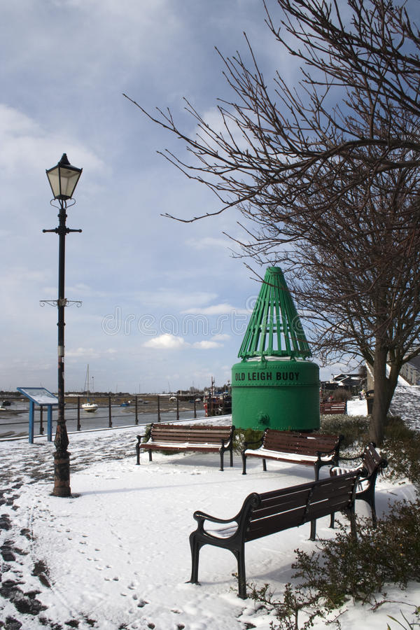 Download A Winter's Day At Leigh-on-Sea, Essex, England Stock Photo - Image: 29780982
