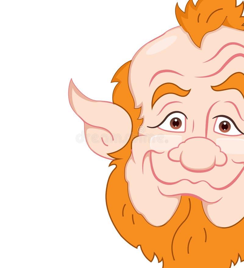 Download Old Leprechaun Closeup stock illustration. Illustration of leaf - 24199511
