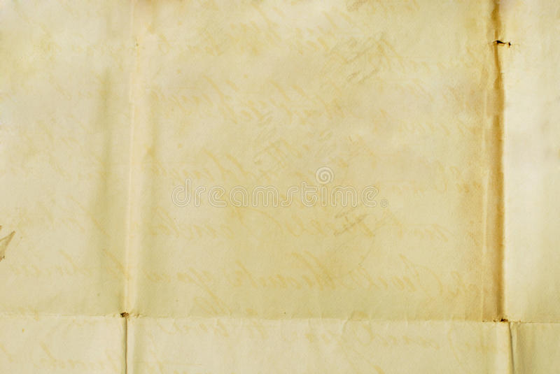 old letter - background textures stock image