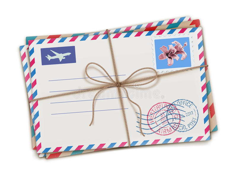 Download Old Letters Royalty Free Stock Image - Image: 27590466