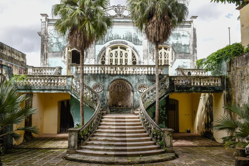 Old liberty house at Sao Luis in Brazil. Old liberty house at Sao Luis on Brazil royalty free stock photography