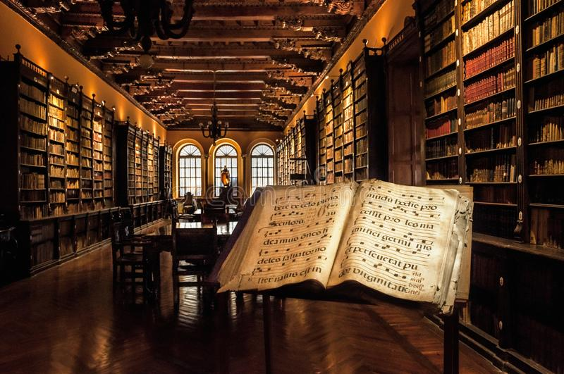 Old Library stock photography