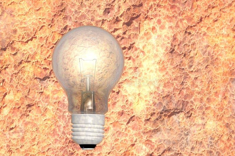 Download Old light bulb stock illustration. Image of imagination - 18867011