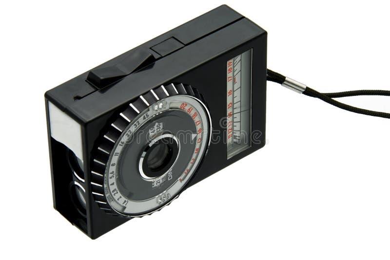 Old light meter royalty free stock image