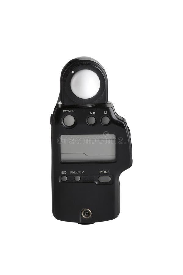 Old light meter stock image