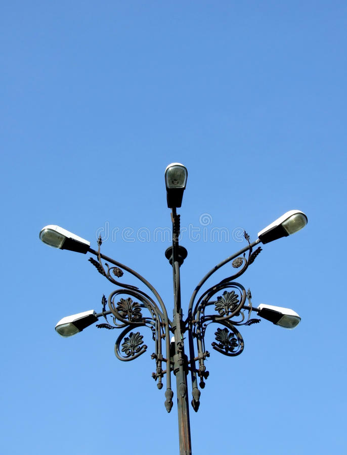 Free Old Light Pole Stock Photography - 13573652
