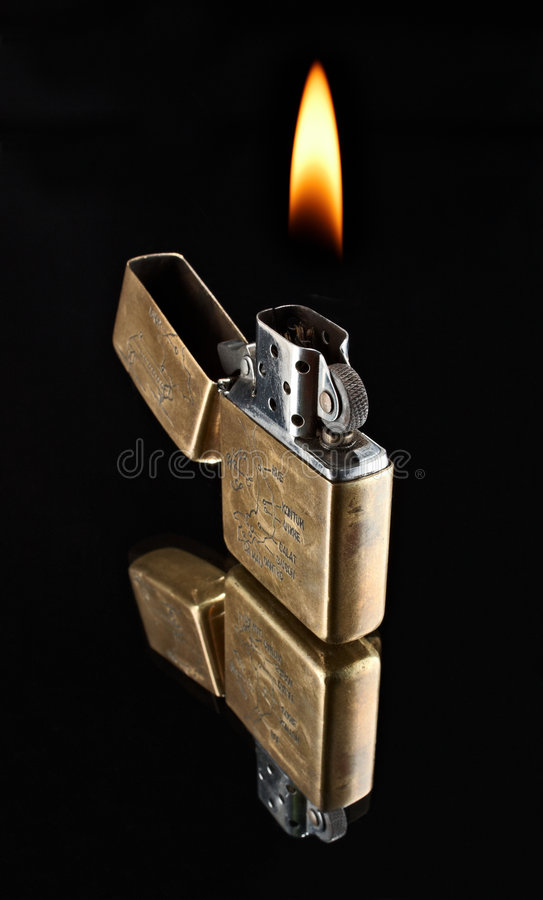 Free Old Lighter From Vietnam Royalty Free Stock Images - 8426079