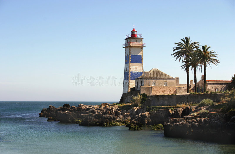 The Old Lighthouse royalty free stock image
