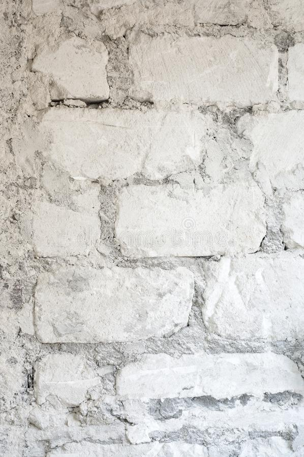 Old limestone wall texture stock image