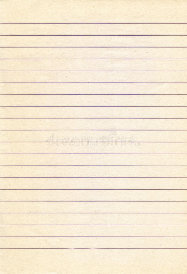 Old Lined Notebook Paper Background Stock Photo  Image Of Element