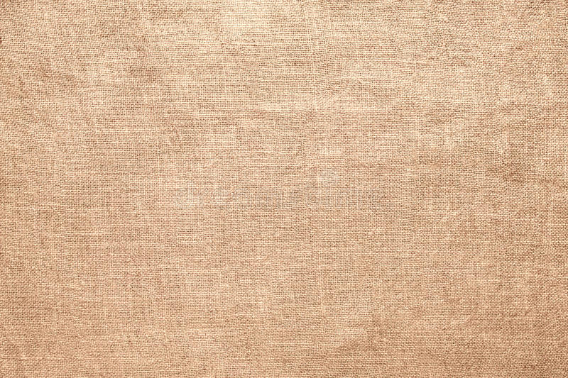 Old linen burlap texture material background royalty free stock photo