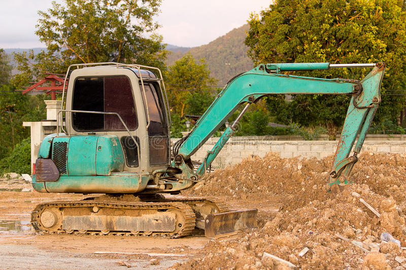 Old Loaders. royalty free stock photos