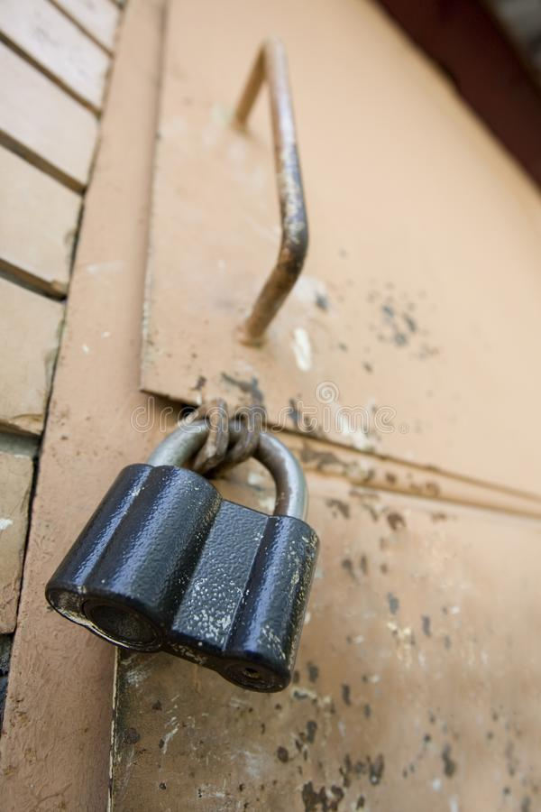 Download Old lock stock image. Image of keyhole, brick, wall, steel - 6076417