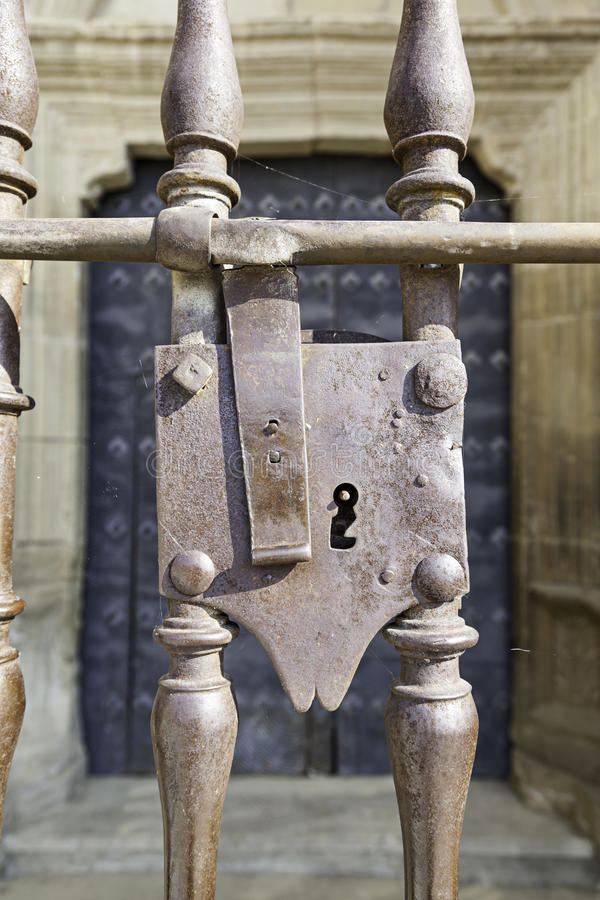 Free Old Lock Gothic Stock Images - 33077544