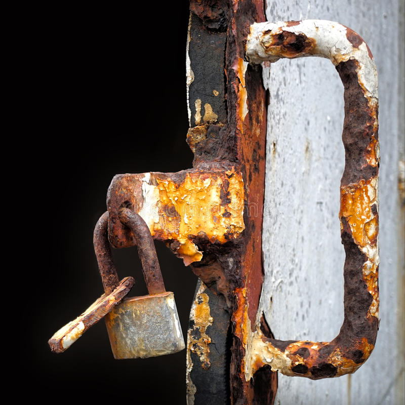 Old lock stock photo