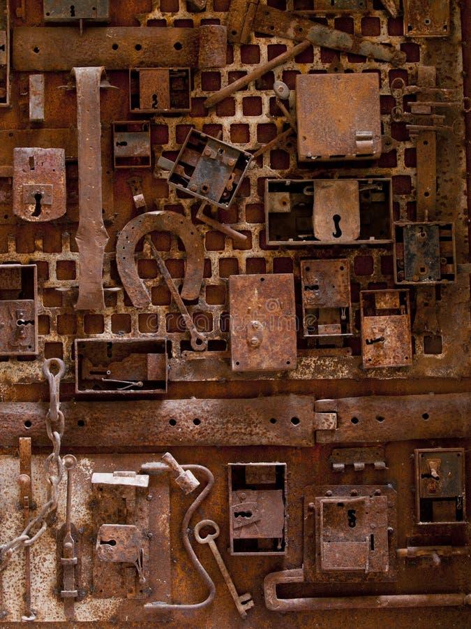 Free Old Locks And Iron Royalty Free Stock Photo - 39225465