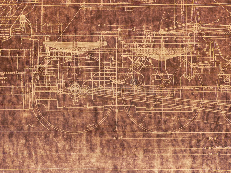 Old locomotive blueprint stock illustration illustration of past download old locomotive blueprint stock illustration illustration of past 283372 malvernweather Image collections