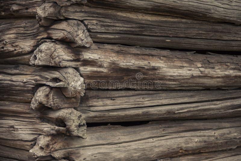 Old Log Cabin royalty free stock photos