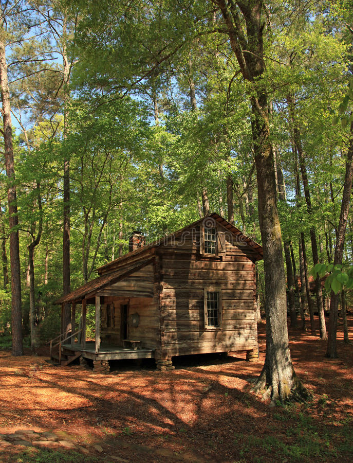 Old Log Cabin Pioneer Living Stock Image Image 30853011