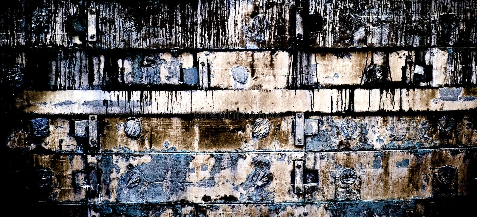Old looked texture stock images