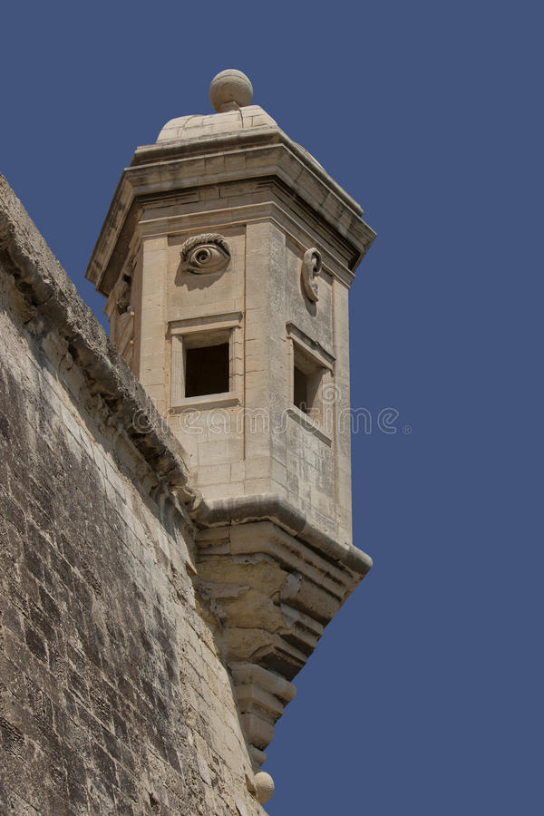 Download Old lookout tower stock image. Image of vertical, stone - 16442839
