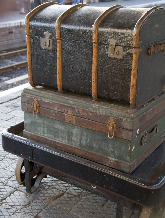 Free Old Luggage Stock Photos - 4265933