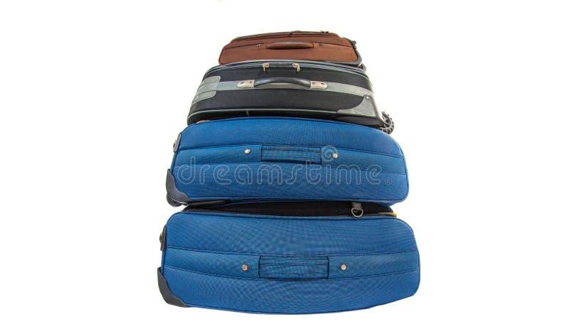 Download Old Luggage Bags III stock image. Image of luggage, blue - 31925897