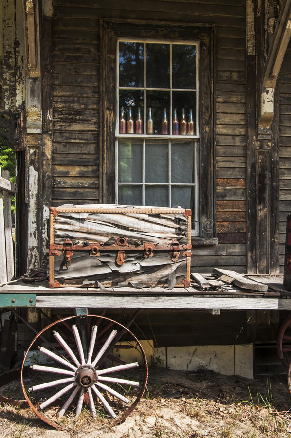 Download Old luggage stock image. Image of vintage, rusty, old - 33876647