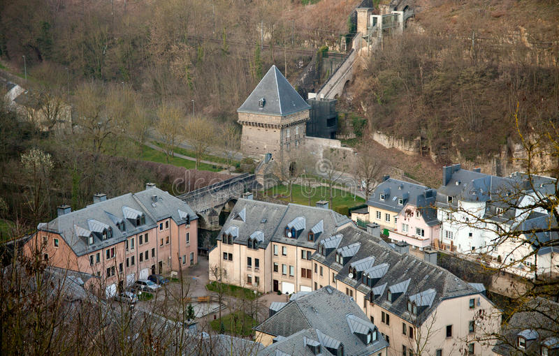 Download Old Luxembourg stock image. Image of picturesque, landmark - 39021275