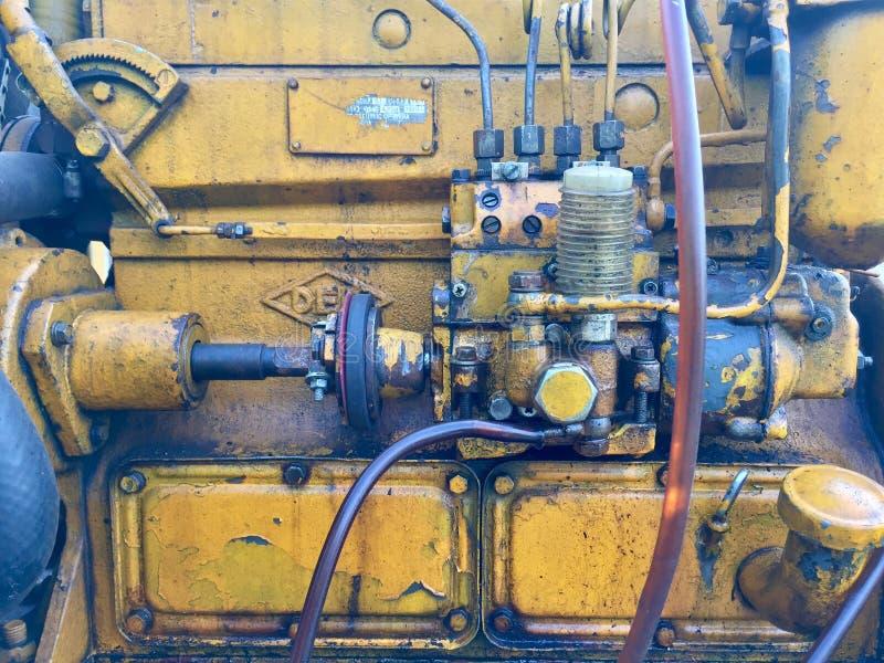 Old machine stock image