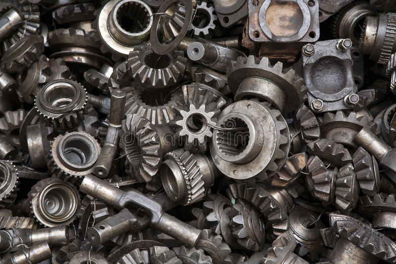 Hq Old Machinery Parts : Old machine parts background stock image of gears