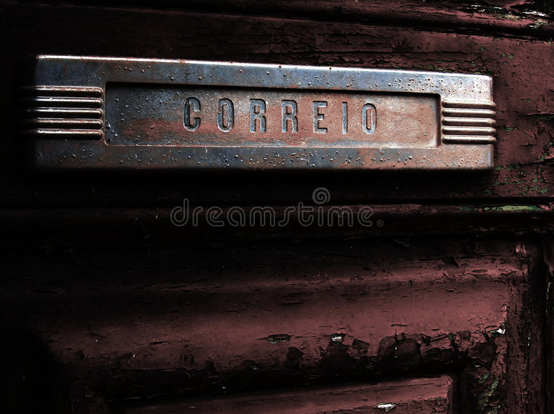 Download Old Mail Slot In Old Door Royalty Free Stock Photo - Image: 2254485