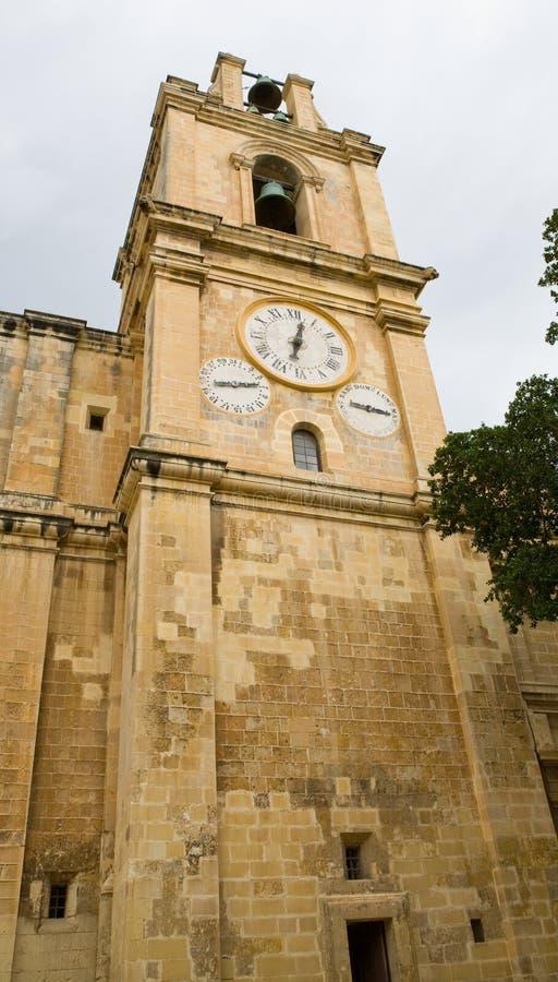 Free Old Malta Church Tower Royalty Free Stock Photos - 7840178