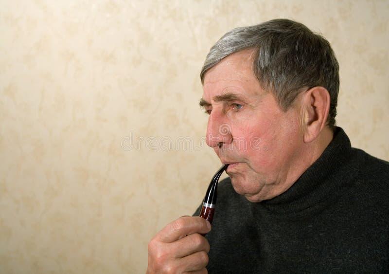 Download Old man stock image. Image of ponder, citizen, generation - 1451645