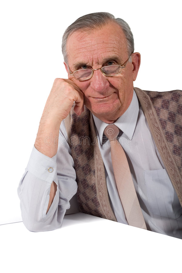 Old Man Royalty Free Stock Image