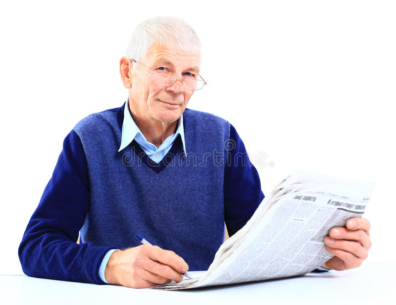 Download Old man stock image. Image of home, happy, aged, lifestyle - 25662993