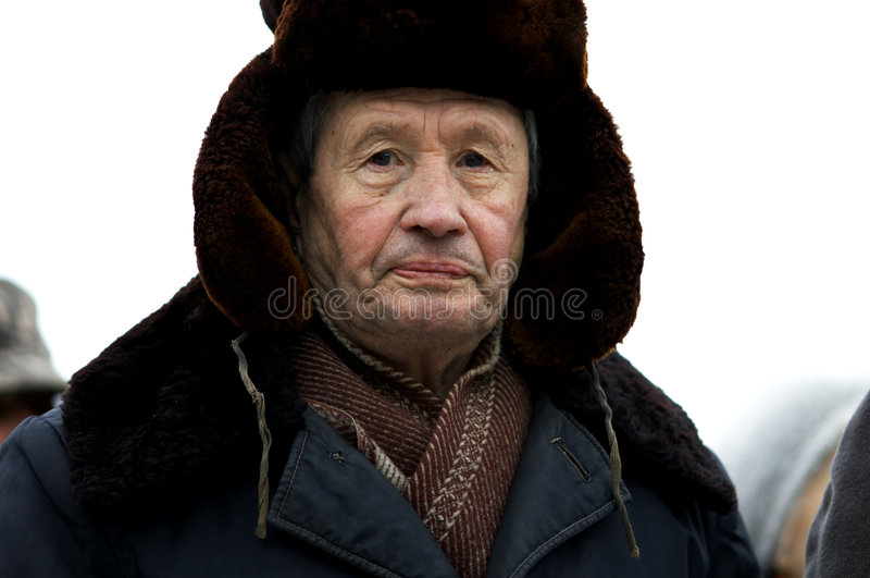 Old man stock images