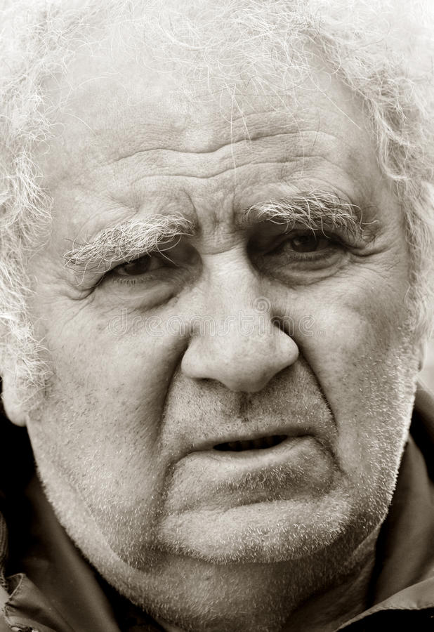 Download Old man stock image. Image of lifestyle, balding, lonely - 9418233