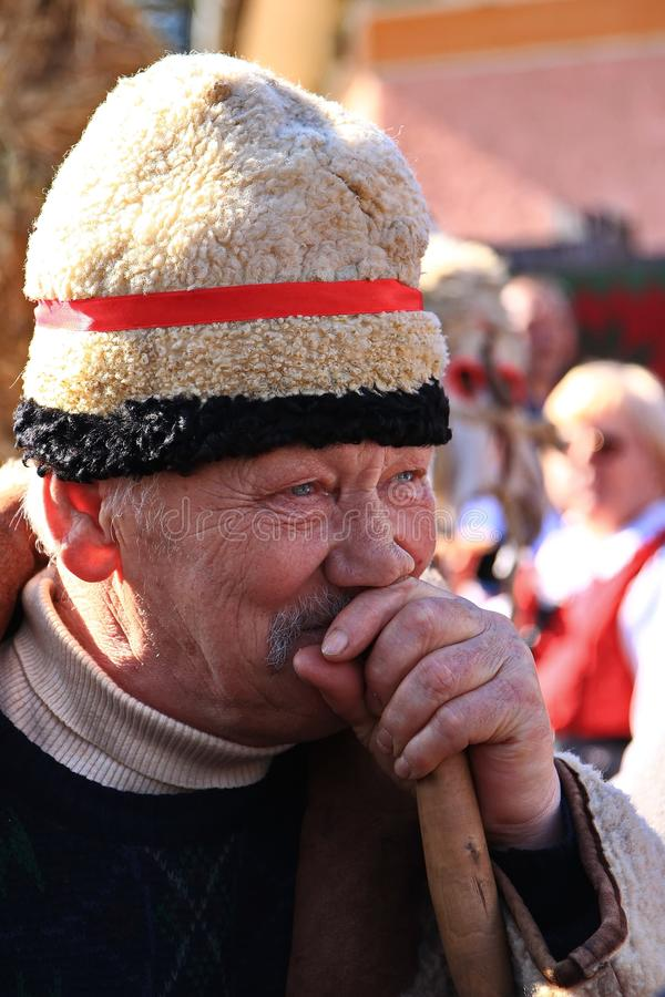 Free Old Man At The Carnival Royalty Free Stock Photography - 108321377