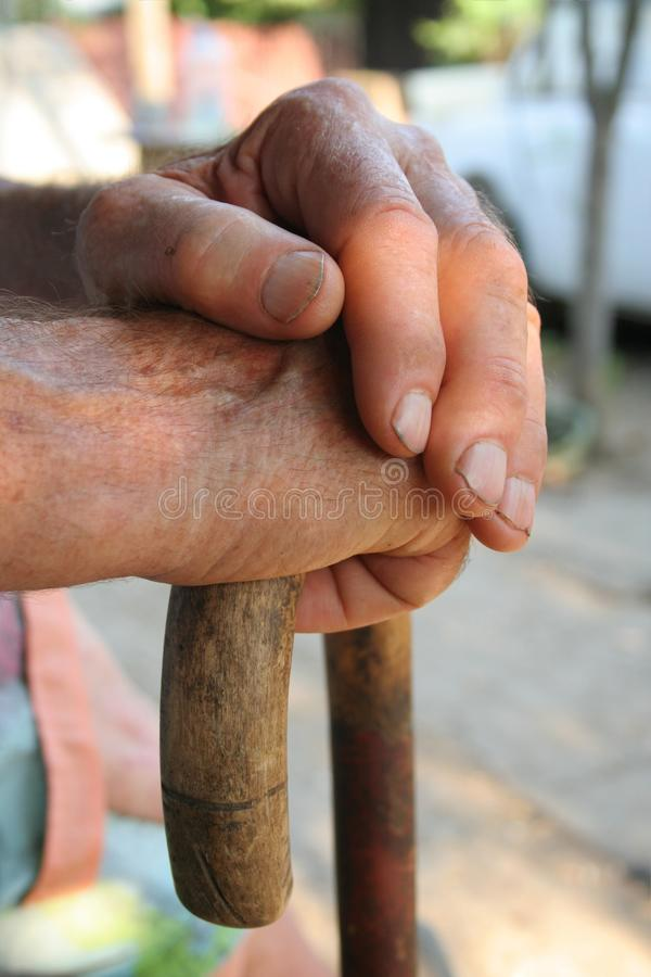 Free Old Man Hands Royalty Free Stock Images - 10228959