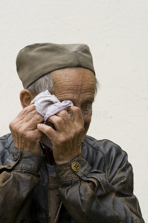Free Old Man Hands Royalty Free Stock Photography - 6048867