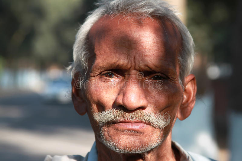 Download Old man portrait editorial stock photo. Image of grey - 17998373