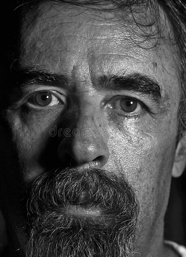 Old man portrait royalty free stock photos