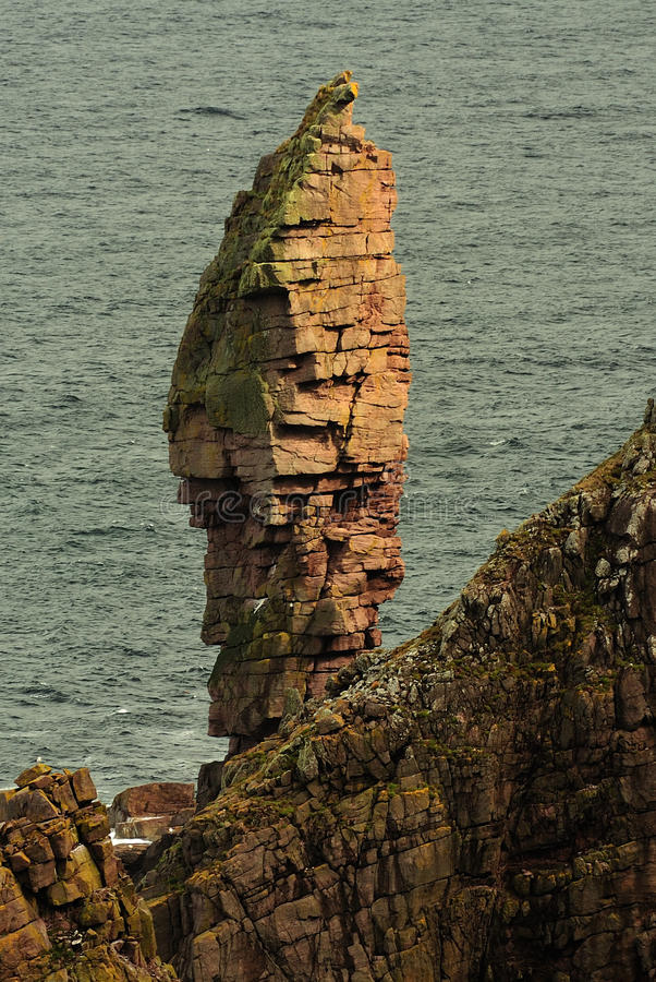 Old man of Stoer seastack, Scotland stock photography